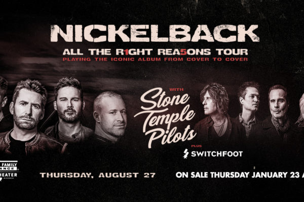 Nickelback, STP, and Switchfoot