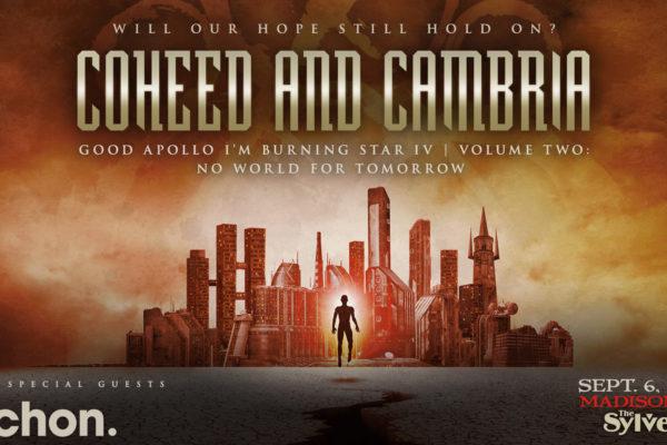 CANCELED: Coheed & Cambria