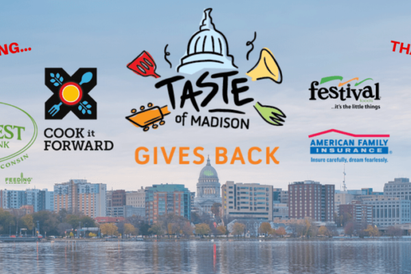Taste of Madison Give-Back Campaign