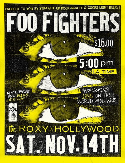 Foo Fighters Live From The Roxy